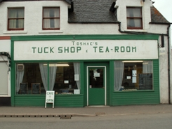tuck_shop-Newtonmore, scottish highlands, monarch of the glen, highland accommodation, aviemore, cairngorm national park, scottish holiday.