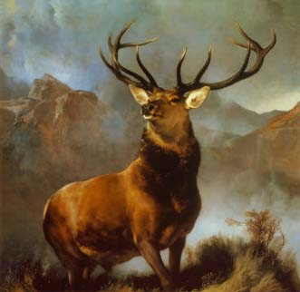 Monarch of the Glen painting