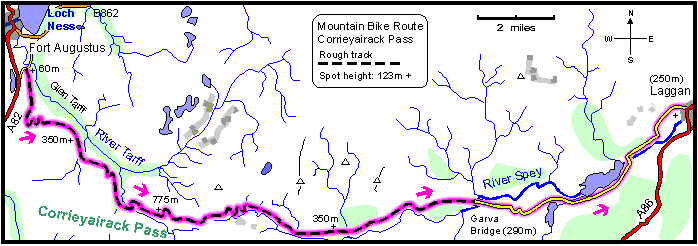 Corrieyairack_Pass_Cycle_Map