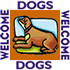 Dogs welcome logo